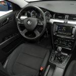 Особенности салона в автомобиле Skoda Superb II