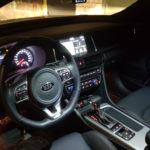 Особенности салона в автомобиле Kia Optima GT
